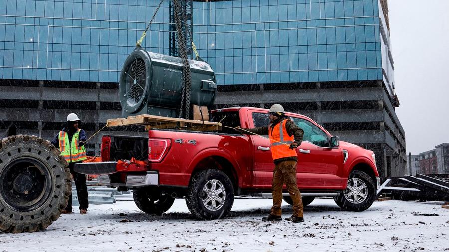 Ford solicitó el registro de lo que sería un nuevo sistema de organización para la caja de sus pick-up