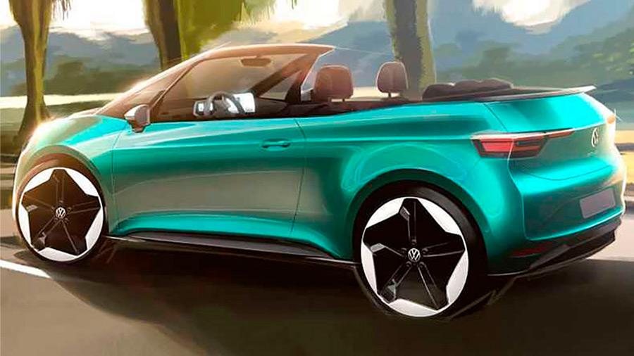 La firma ya está realizando bosquejos sobre el posible auto eléctrico descapotable