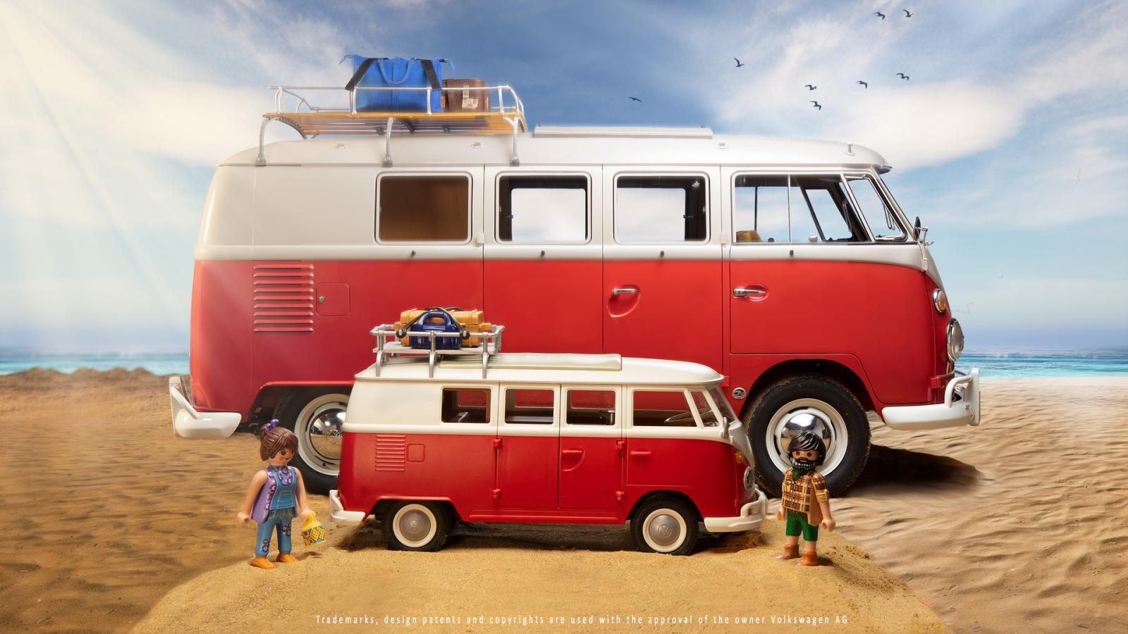 Playmobil Volkswagen T1 Camper