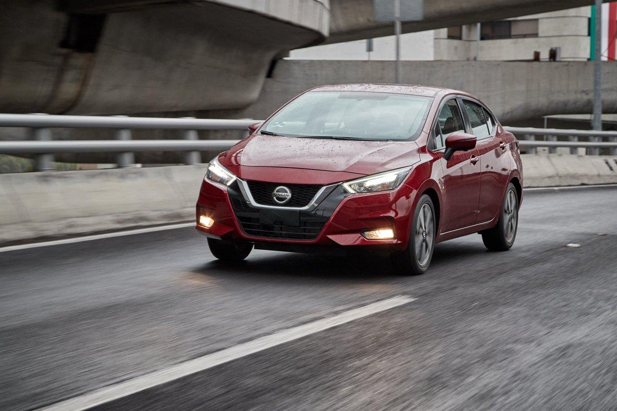 Nissan Versa en la lista de los autos más populares