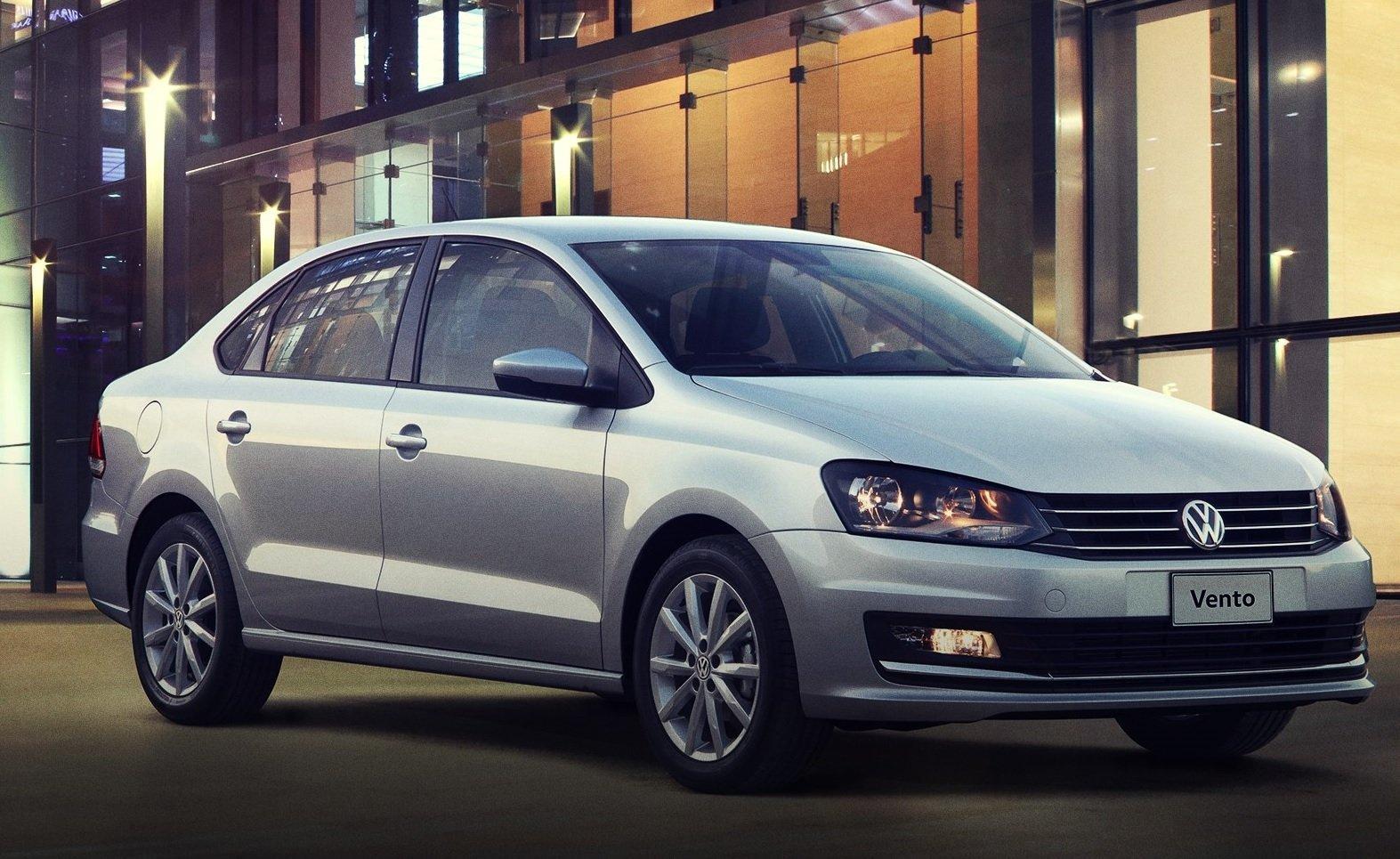 Volkswagen Vento en la lista de los autos más populares