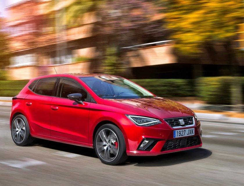 SEAT Ibiza en la lista de los autos más populares