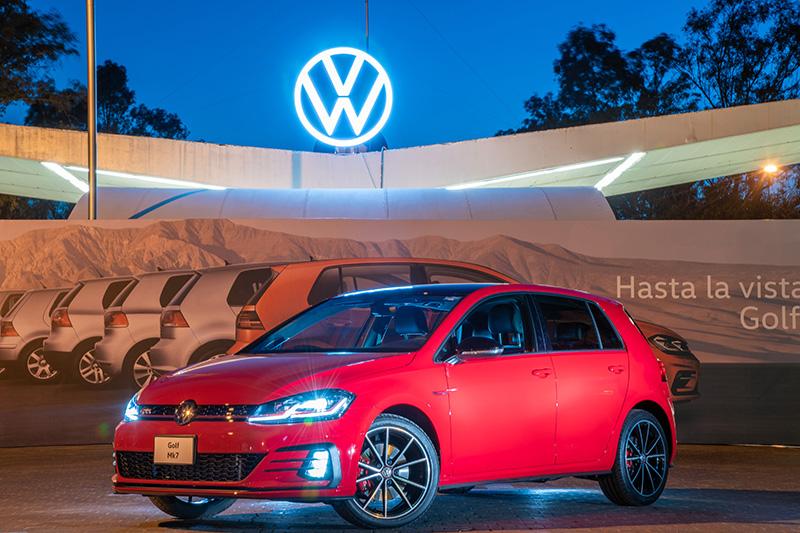Adiós al Volkswagen Golf México
