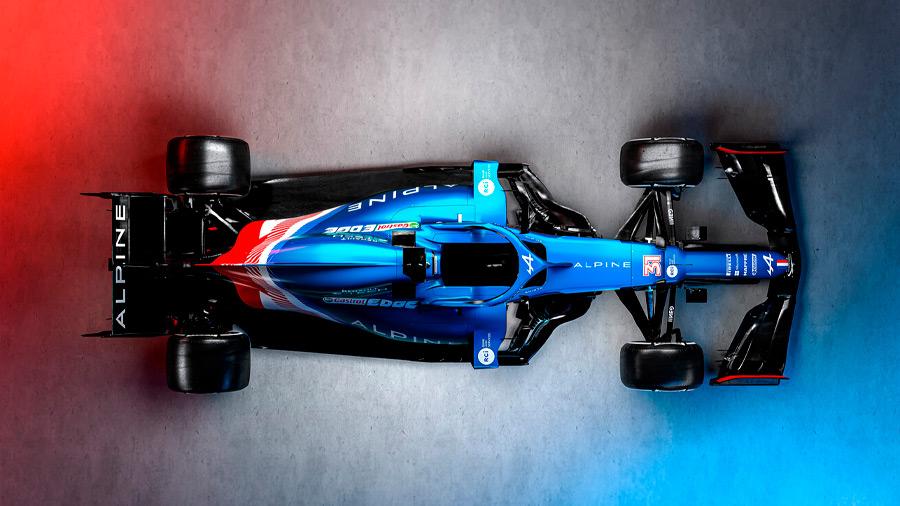 Fernando Alonso y Esteban Ocon forman la dupla de pilotos titulares de la escudería