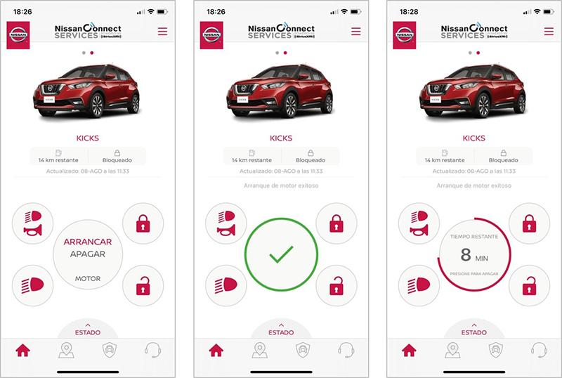 NissanConnect Services Nissan kicks