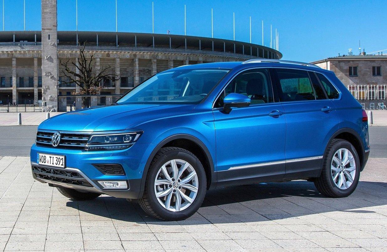 SUV de Volkswagen: Volkswagen Tiguan