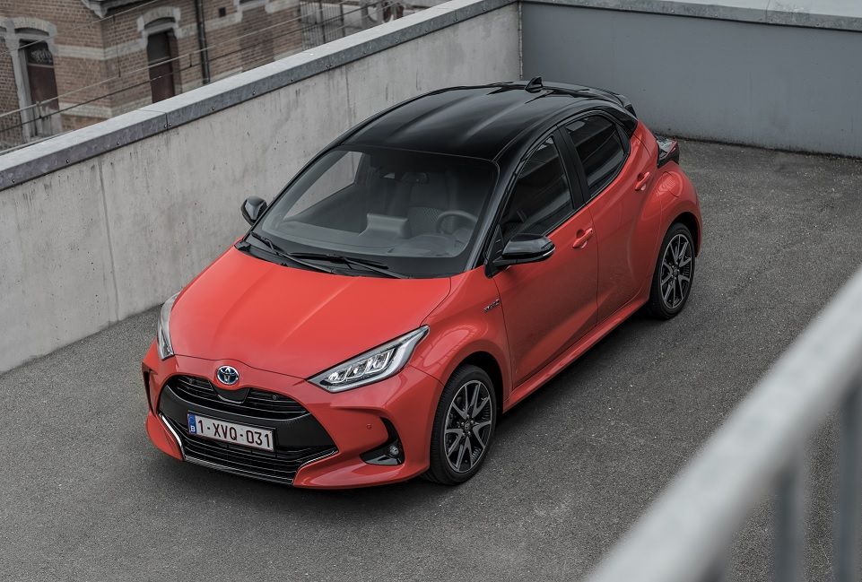 El Toyota Yaris es nombrado European Car Of the Year 2021