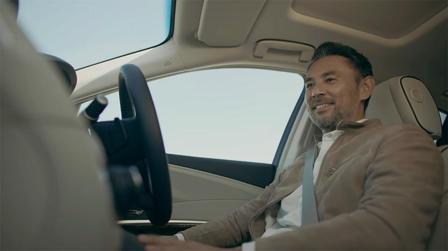 La tecnología Sensing Elite debutó en el modelo Honda Legend EX