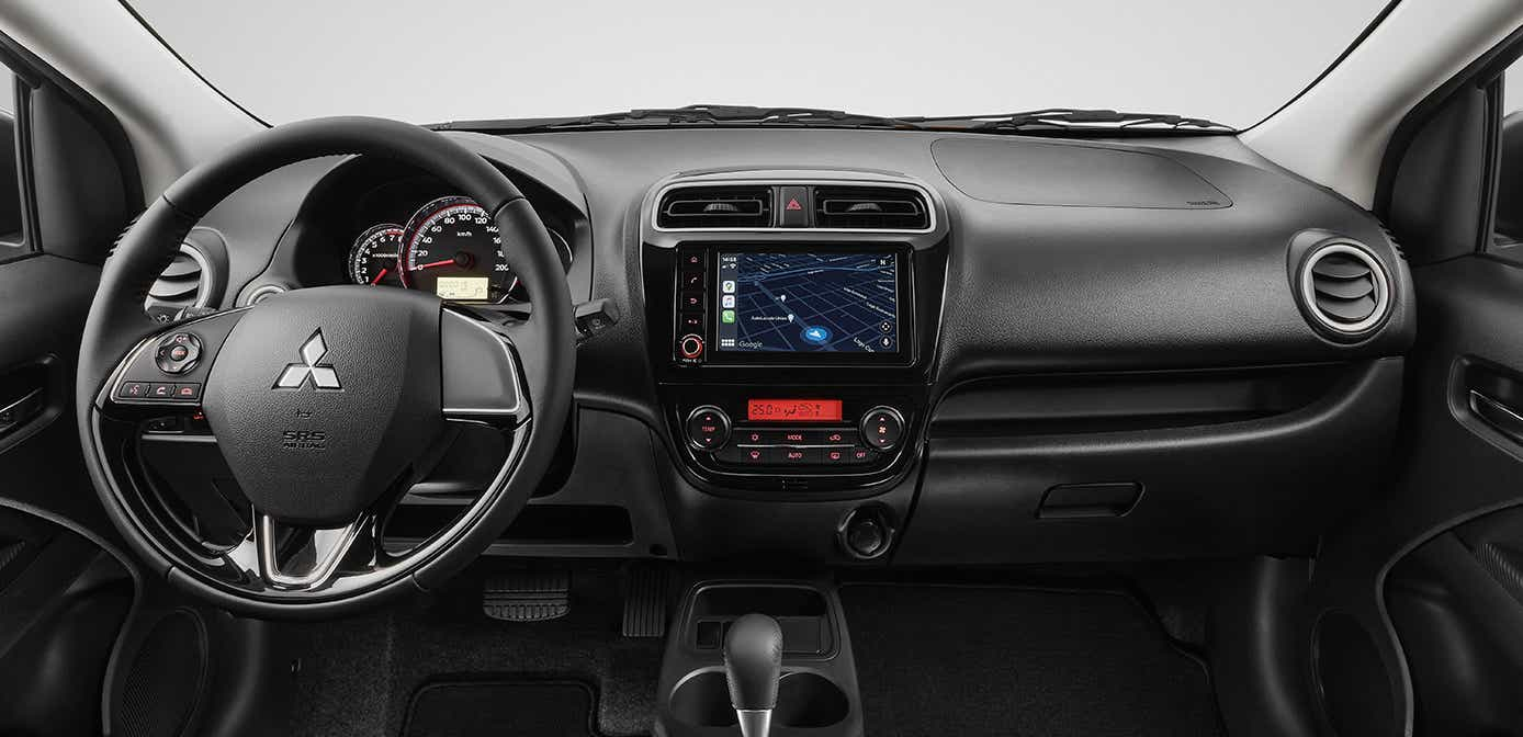 Chevrolet Aveo LT TM 2021 Mitsubishi Mirage G4 GLS MT 2021 comparativa