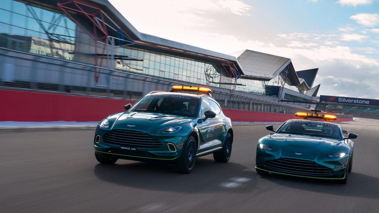 Aston Martin Safety Car F1