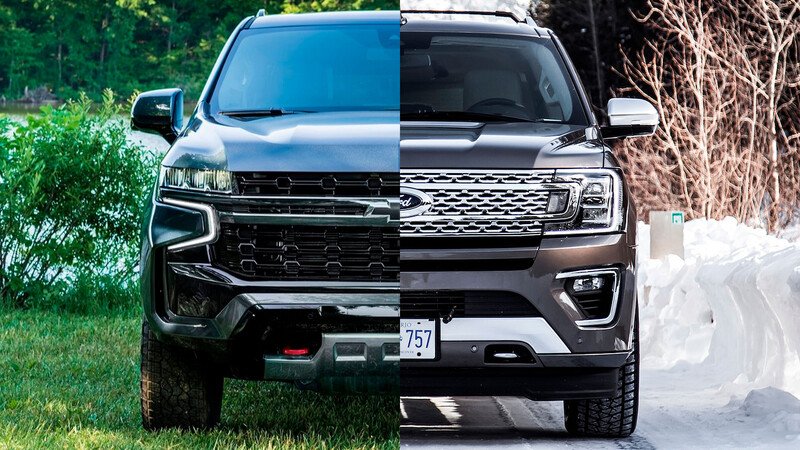 Chevrolet Suburban vs Ford Expedition