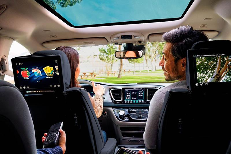 Chrysler Pacifica 2021 familia