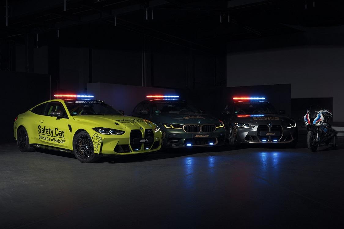 BMW M presenta los safety cars para MotoGP 2021