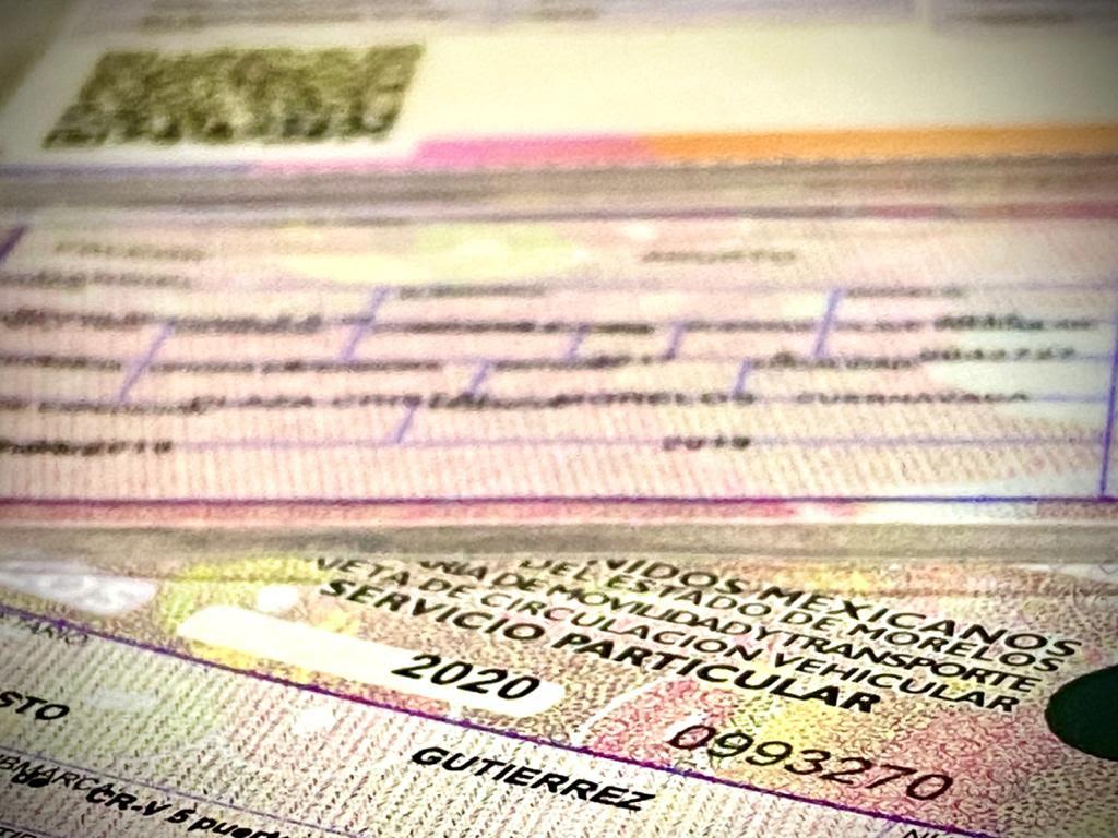 Cómo realizar la renovación de tarjeta de circulación Morelos 3