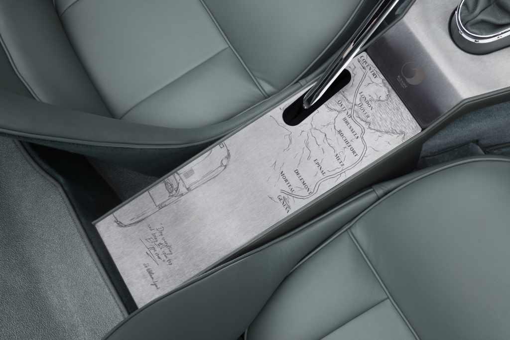 Jaguar E-Type Roadtser consola