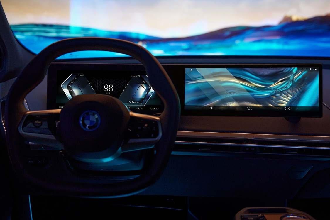BMW lanzó la nueva generación de su sistema iDrive