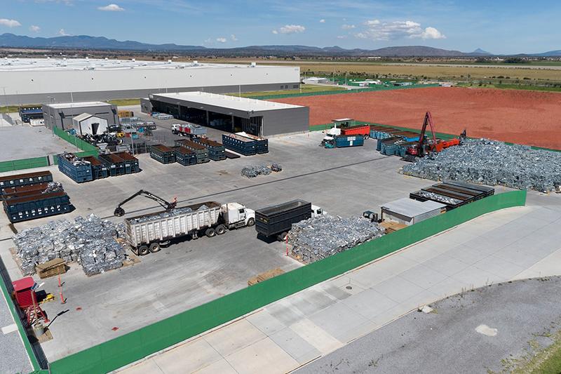 Centro de reciclaje Audi