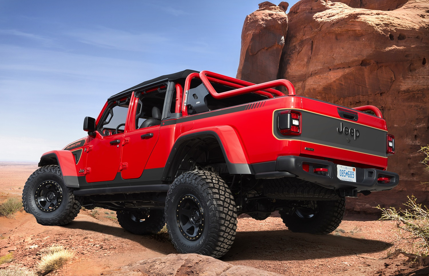 Jeep Gladiator Red Bare