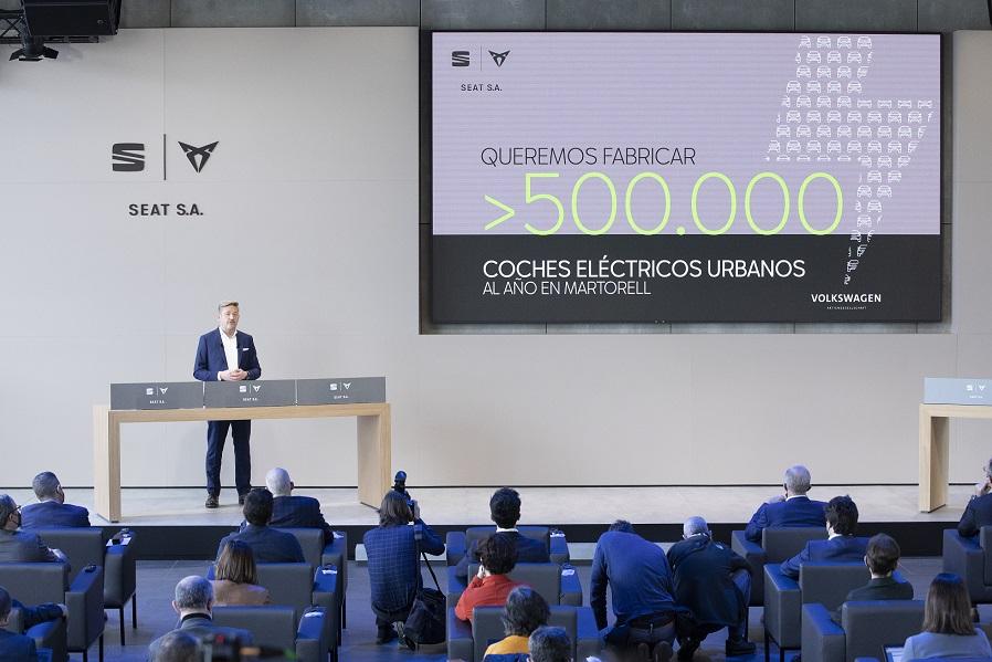 SEAT lanzará un auto 100% eléctrico para 2025