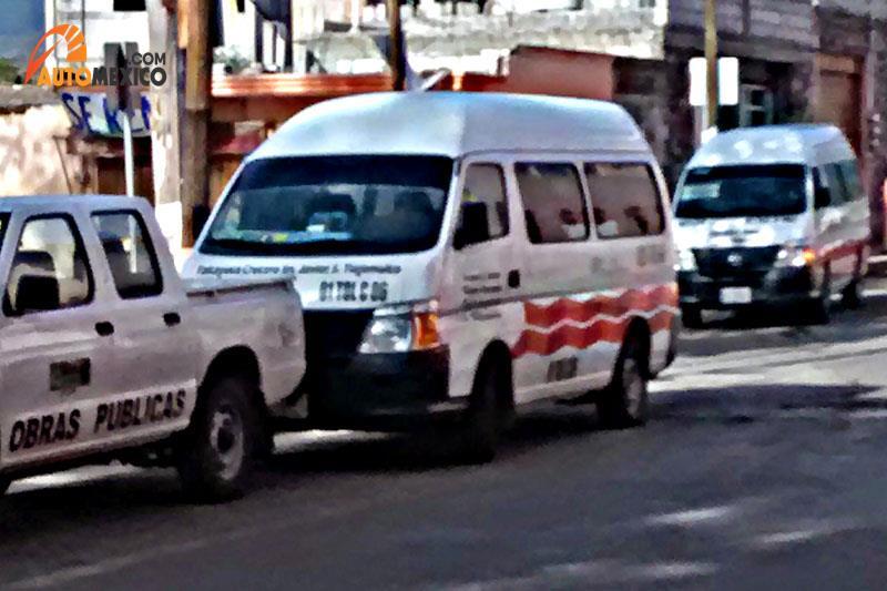 Combis en Hidalgo