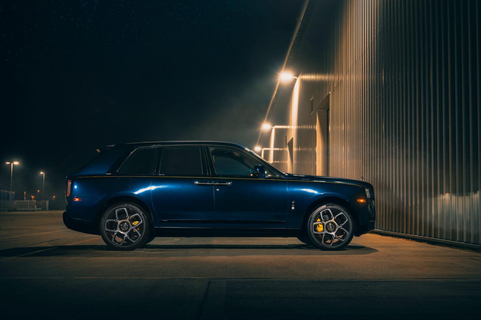 Rolls-Royce Cullinan Black Badge Bespoke