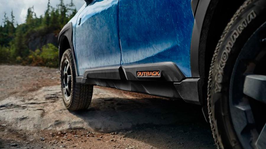 Esta versión calza neumáticos más capaces para la experiencia off-road