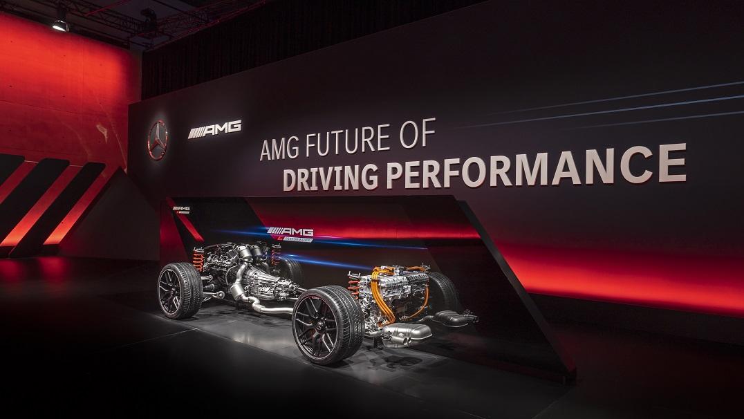 Tren motriz híbrido Mercedes-AMG