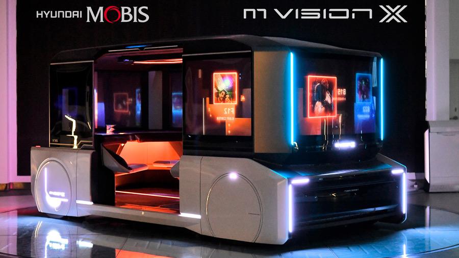 El Hyundai M.Vision X tiene incorporado un sistema de conducción autónoma