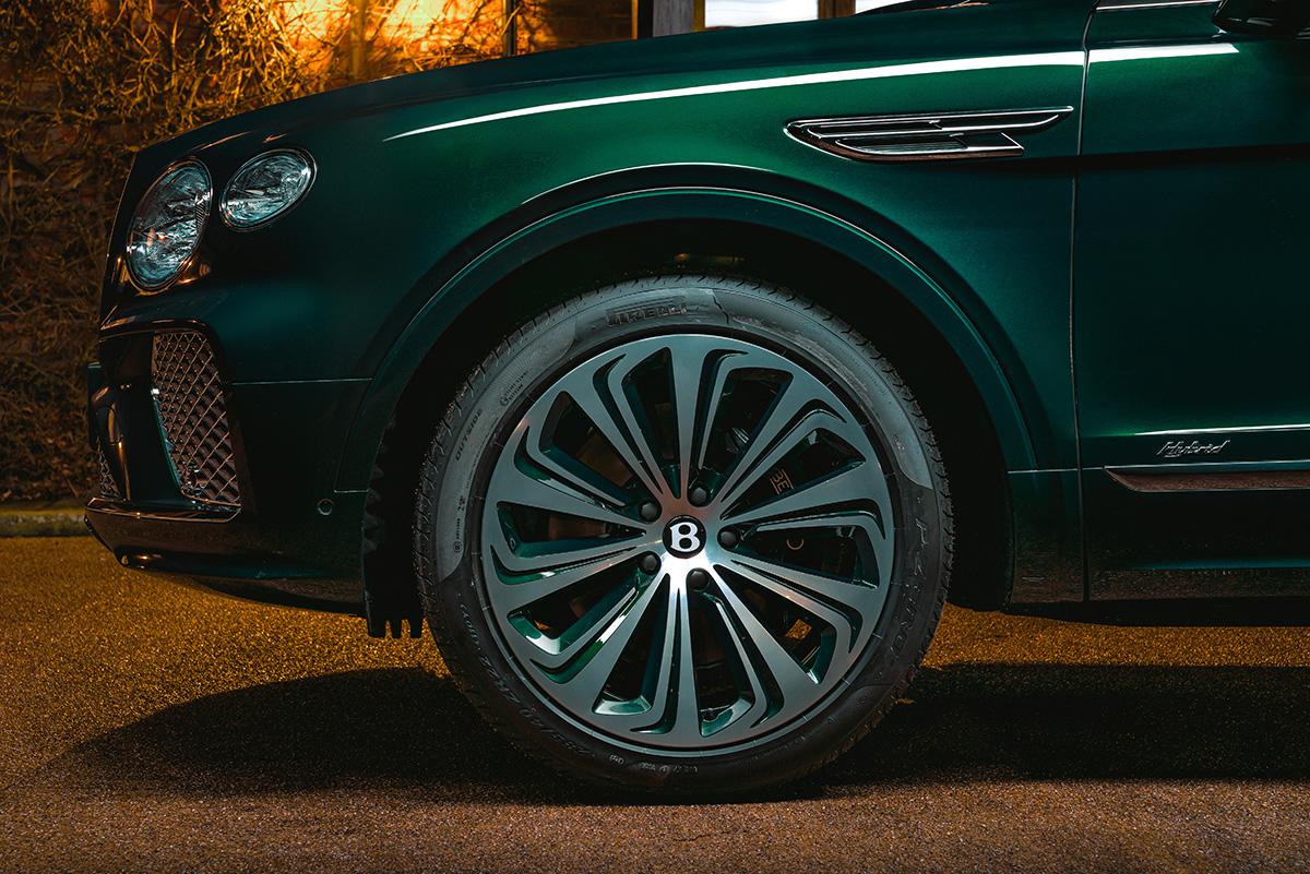 Bentley Bentayga Híbrida rines