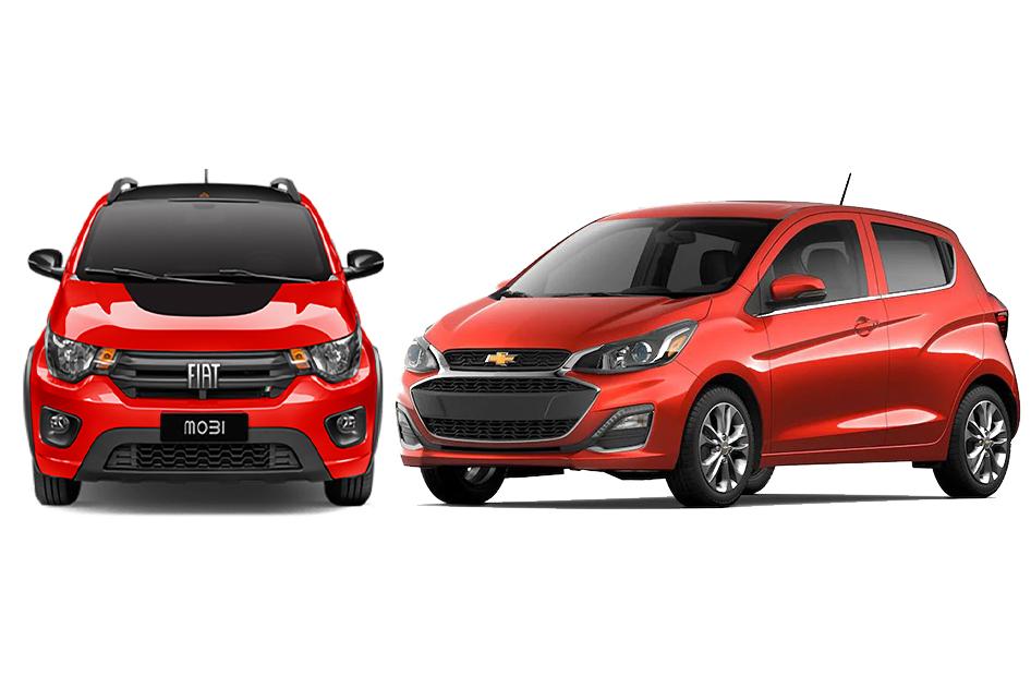 FIAT Mobi vs Chevrolet Spark