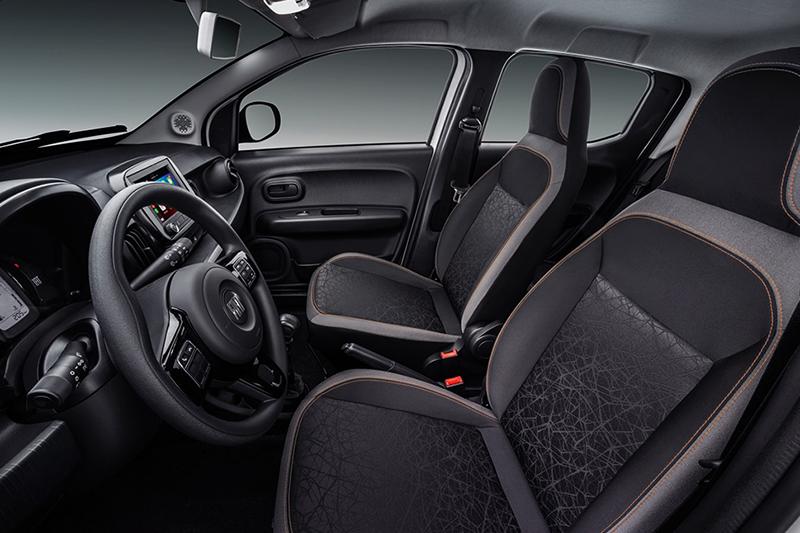 FIAT Mobi Trekking interior