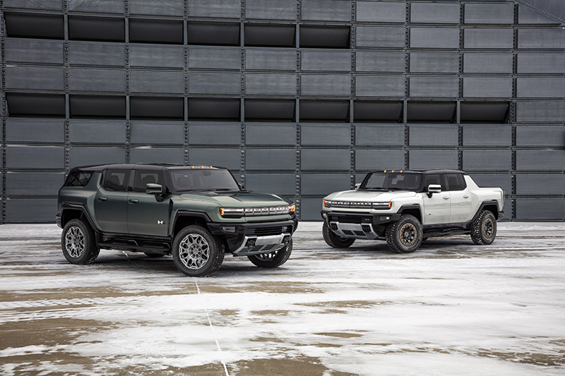 GMC Hummer EV SUV y Pick-Up