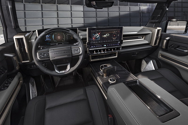GMC Hummer EV SUV 2024 interior