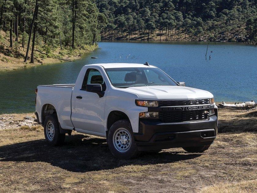 Top 5 pick up usadas más populares en Automexico en 2020 - Chevrolet Silverado
