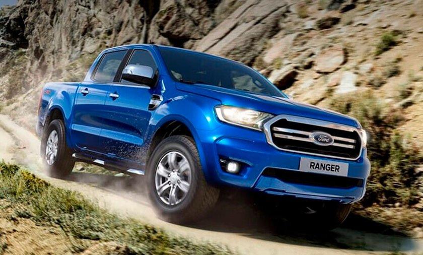 Top 5 pick up usadas más populares en Automexico en 2020 - Ford Ranger