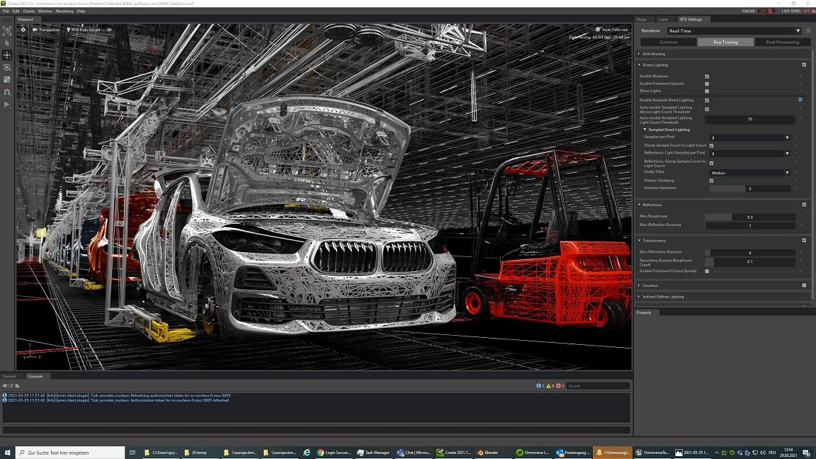 Nvidia Omniverse BMW