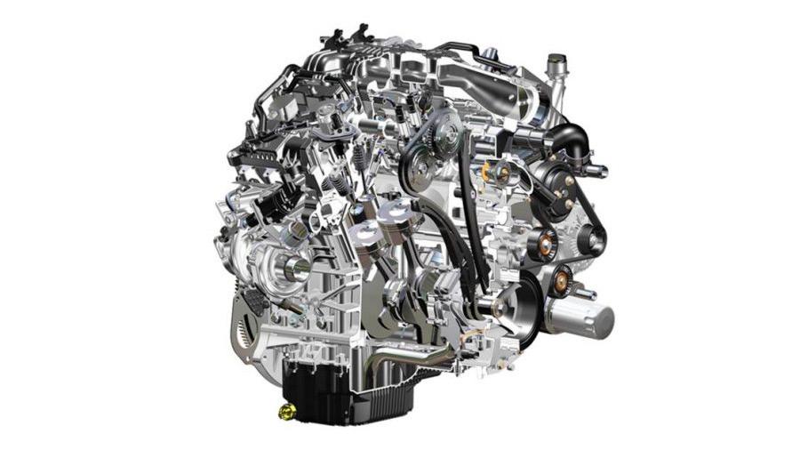 motor V6 - 2