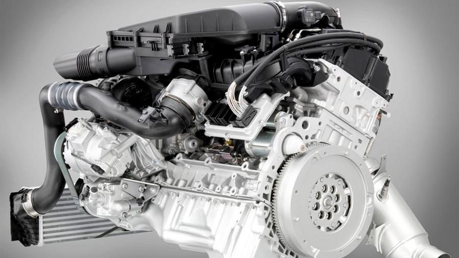 motor V6 - 4
