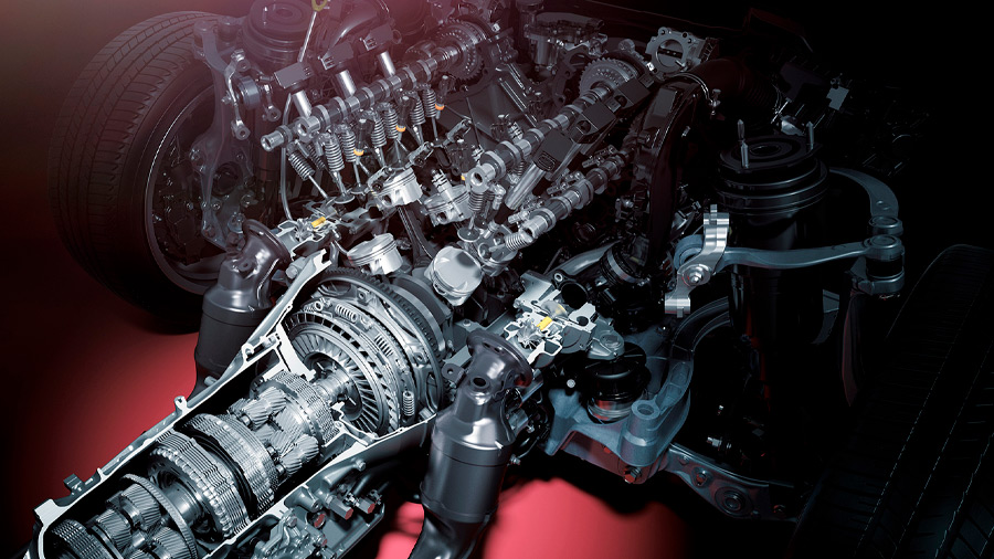motor V6 - 1