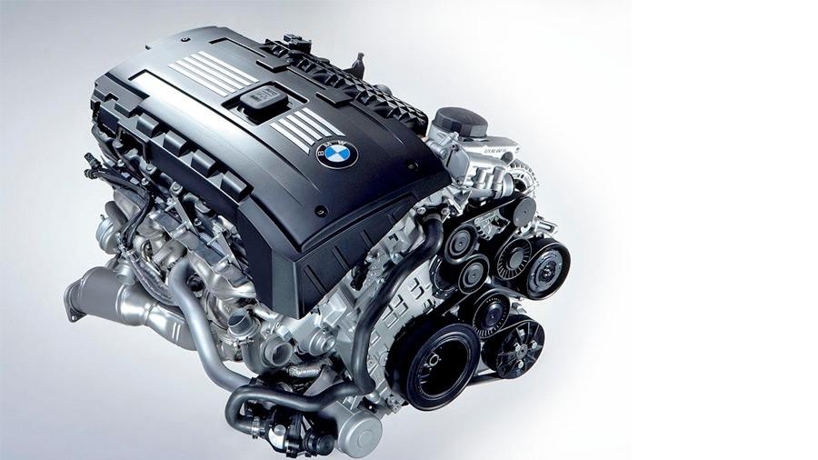 motor V6 - 3