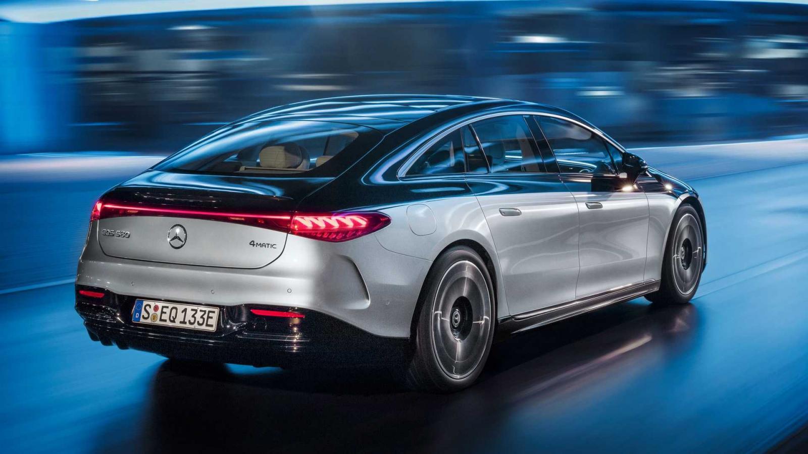 Mercedes-Benz EQS 2022
