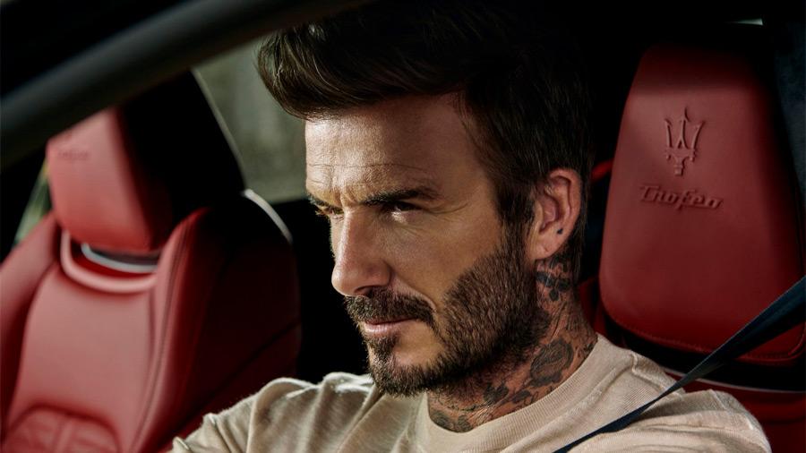 Beckham se declaró un gran fan de los autos de Maserati