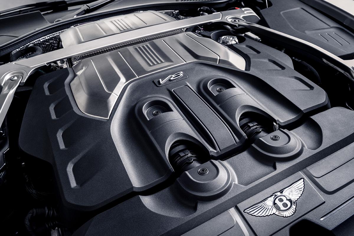 Bentley Continental GT V8 Equinox Edition motor