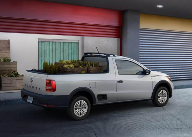 pick up compactas - Volkswagen Saveiro Robust