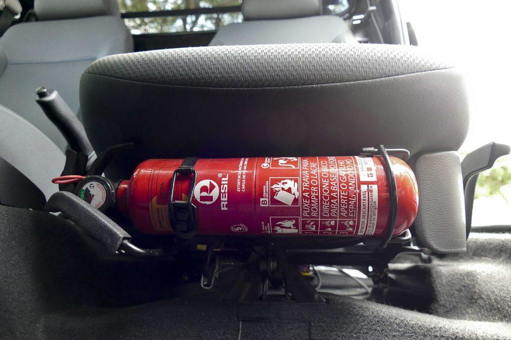 Extintor para auto 1