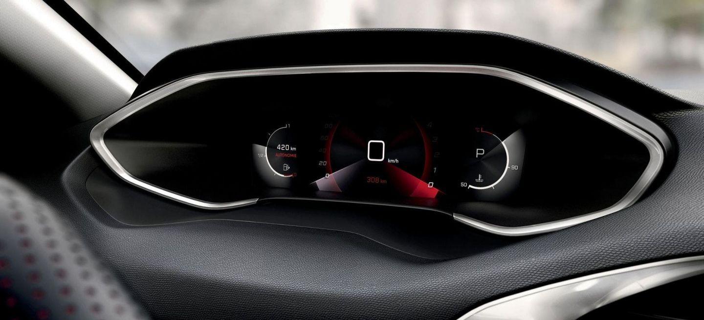 Peugeot 308 panel de instrumentos