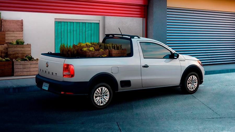 pick up para trabajo duro - Volkswagen Saveiro