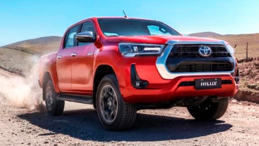 pick up para trabajo duro - Toyota Hilux