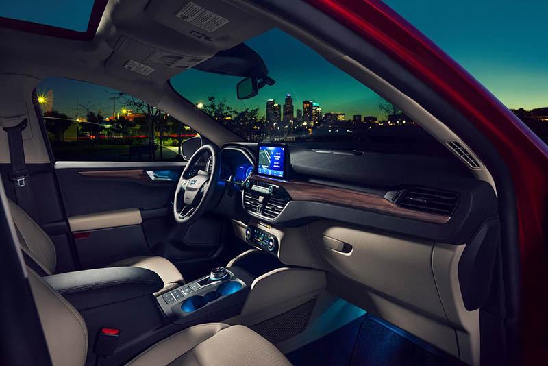 palanca de velocidades - Ford Escape interior