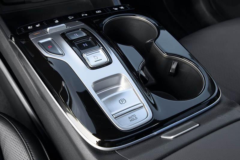 palanca de velocidades - Hyundai Tucson interior